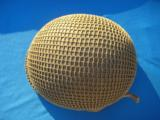 U.S. WW2 Model M1 Combat Helmet Front Seam Fixed Bale w/Invasion Netting - 8 of 15