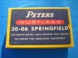 Peters Rustless 30-06 Springfield Cartridge Box - 1 of 2