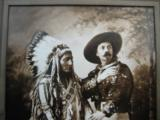 Buffalo Bill Cody & Sitting Bull Original Sepia Tone Photograph Montreal 1885 - 6 of 11