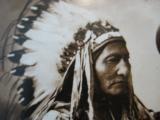Buffalo Bill Cody & Sitting Bull Original Sepia Tone Photograph Montreal 1885 - 10 of 11