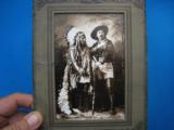 Buffalo Bill Cody & Sitting Bull Original Sepia Tone Photograph Montreal 1885 - 9 of 11
