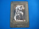 Buffalo Bill Cody & Sitting Bull Original Sepia Tone Photograph Montreal 1885 - 4 of 11