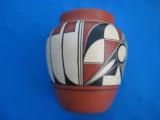 Acoma Pueblo Pottery Jar Contemporary - 2 of 7