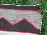 Navajo Saddle Blanket circa 1910 - 5 of 6