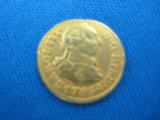 Spanish Gold 1/2 Escudo date 1786 - 1 of 4