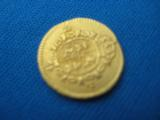Spanish Gold 1/2 Escudo date 1786 - 3 of 4