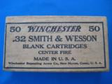 Winchester 32 S&W Blank Cartridges 2 pc. Box - 1 of 5