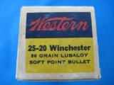 Western 25-20 Target Box Full 86 gr. Lubaloy SP - 3 of 10