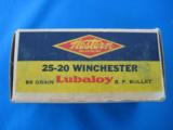 Western 25-20 Target Box Full 86 gr. Lubaloy SP - 5 of 10