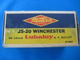 Western 25-20 Target Box Full 86 gr. Lubaloy SP - 6 of 10