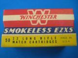 Winchester EZXS Match 22LR Full Box K Code - 1 of 7