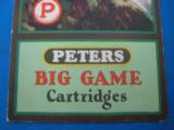 """RARE"" Peters Ammunition Advertising Foldout circa 1928 ""RARE"" - 3 of 11"