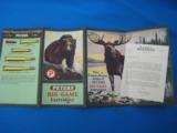 """RARE"" Peters Ammunition Advertising Foldout circa 1928 ""RARE"" - 11 of 11"