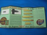 """RARE"" Peters Ammunition Advertising Foldout circa 1928 ""RARE"" - 9 of 11"