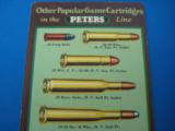 """RARE"" Peters Ammunition Advertising Foldout circa 1928 ""RARE"" - 5 of 11"