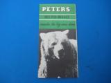 """RARE"" Peters Advertising Ammunition Foldout circa 1935 ""RARE"" - 1 of 7"