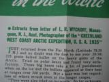 """RARE"" Peters Advertising Ammunition Foldout circa 1935 ""RARE"" - 6 of 7"