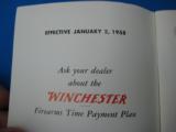 Winchester 1958 Retail Catalog Rifles & Shotguns - 4 of 11