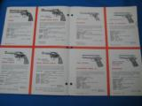 Colt Patent Firearms Co. Dealer Foldout 1957 - 3 of 6