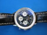Breitling Navitimer Chronometre D23322 w/Box & Paperwork 2003 SS 18K - 5 of 9