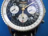 Breitling Navitimer Chronometre D23322 w/Box & Paperwork 2003 SS 18K - 3 of 9