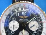 Breitling Navitimer Chronometre D23322 w/Box & Paperwork 2003 SS 18K - 2 of 9