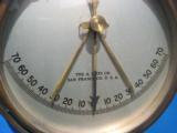 U.S. Navy Pilot House Ship Inclinometer A. Lietz San Francisco - 12 of 13