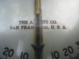 U.S. Navy Pilot House Ship Inclinometer A. Lietz San Francisco - 2 of 13