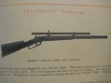 Stevens Rifle Telescopes Catalog circa 1920's - 12 of 12