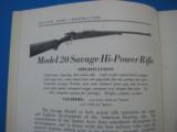 Savage Sporting Arms & Ammunition #63 Catalog circa 1929 - 8 of 14