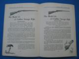 Savage Sporting Arms & Ammunition #63 Catalog circa 1929 - 10 of 14