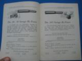 Savage Sporting Arms & Ammunition #63 Catalog circa 1929 - 4 of 14