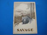 Savage Sporting Arms & Ammunition #63 Catalog circa 1929 - 1 of 14
