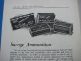 Savage Sporting Arms & Ammunition #63 Catalog circa 1929 - 13 of 14