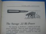 Savage Sporting Arms & Ammunition #63 Catalog circa 1929 - 3 of 14