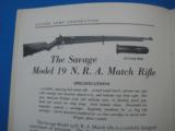 Savage Sporting Arms & Ammunition #63 Catalog circa 1929 - 9 of 14