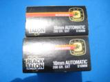 Winchester Black Talon 10 mm 2 boxes 30 cartridges - 2 of 5