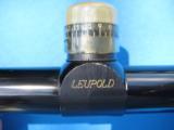 Leupold M8 4X Rifle Scope w/Stoney Point Elevation Knob Duplex Reticle w/Original Box - 7 of 7