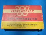 Winchester 405 Staynless Cartridge Box Full - 3 of 7