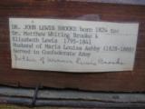 Original Oil Painting of Captain John Lewis Brooke CSA 13th Va. Regiment Co. D - 5 of 8