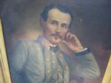 Original Oil Painting of Captain John Lewis Brooke CSA 13th Va. Regiment Co. D - 2 of 8