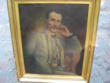 Original Oil Painting of Captain John Lewis Brooke CSA 13th Va. Regiment Co. D - 1 of 8