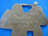 Otto F. Ernst Watch Fob Sheridan Wyoming Rare - 5 of 7