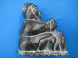 Inuit Soapstone Sculpture by Joanassie Oomayoualook circa 1970's - 9 of 10