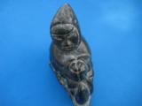 Inuit Soapstone Sculpture by Joanassie Oomayoualook circa 1970's - 3 of 10