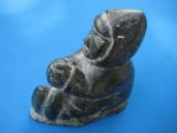 Inuit Soapstone Sculpture by Joanassie Oomayoualook circa 1970's - 1 of 10