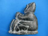 Inuit Soapstone Sculpture by Joanassie Oomayoualook circa 1970's - 10 of 10