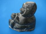 Inuit Soapstone Sculpture by Joanassie Oomayoualook circa 1970's - 6 of 10