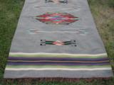 Mexican Saltillo Blanket Chimayo Design circa 1930's - 4 of 16