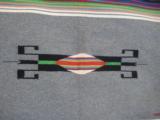 Mexican Saltillo Blanket Chimayo Design circa 1930's - 9 of 16